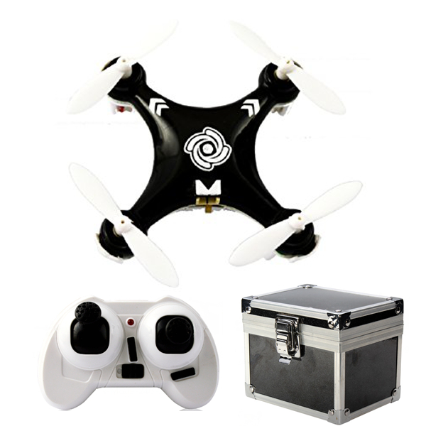 Cheerson CX-10A CX10A 6 Axis RC Quadcopter Mode 2 Black + Gift Box
