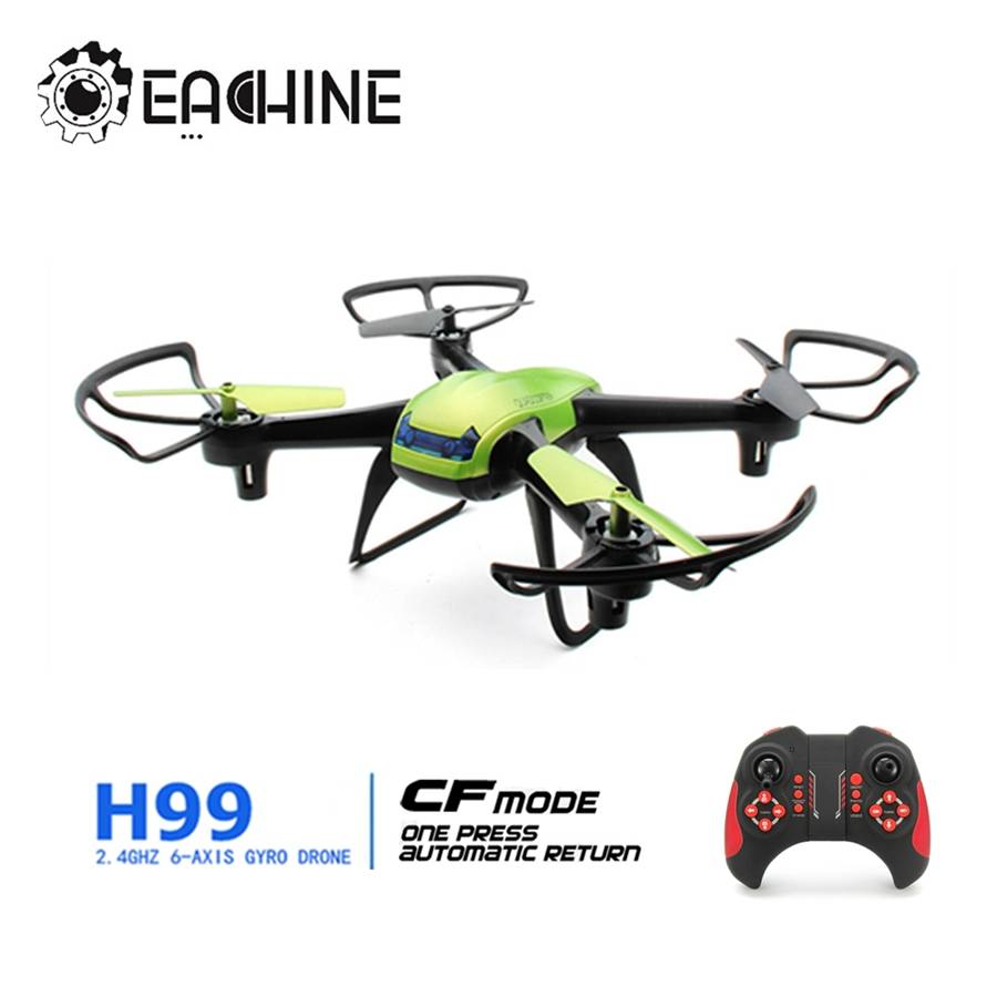 Eachine H99 2.4G 4CH 6 Axis Headless Mode 3D Roll One Key Return RC Quadcopter RTF
